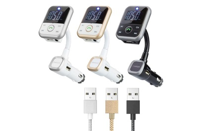 4-in-1 Bluetooth Entertainment Device and Cables
