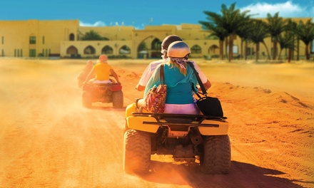 Adventure Break in Desert at Tilal Liwa Hotel