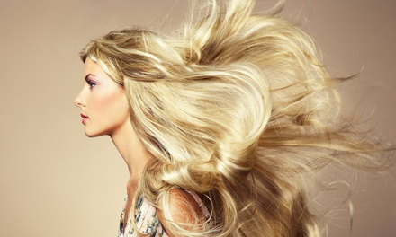 Blow-Dry and Hair Treatment