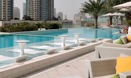 Breakfast and Pool at Sofitel Downtown