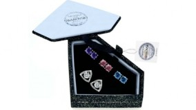 Interchangeable Earrings made with Swarovski Elements