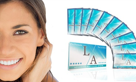 LA Smile Teeth Whitening Strips