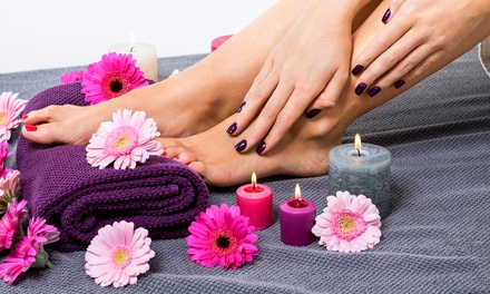 Mani-Pedi with Foot Scrub
