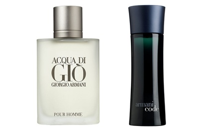 Men's Giorgio Armani Fragrances