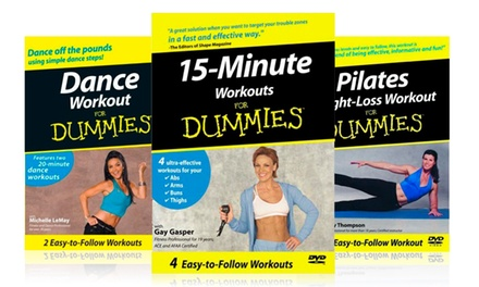 2 Workout for Dummies DVDs