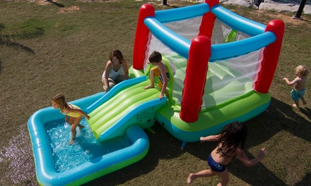 Bouncing Castle With Pool