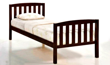 Classic Single Wooden Bed