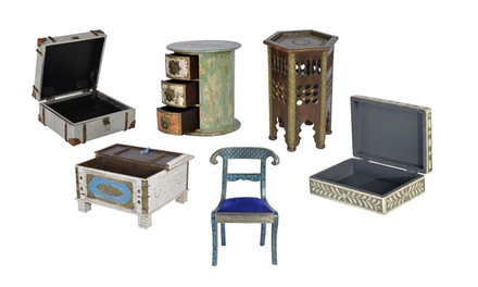 Hand-Crafted Indian Furniture