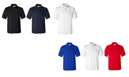 3-Pack Dry-Fit Polo T-shirts