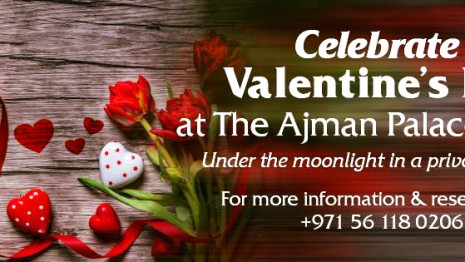 Ajman Palace Hotel Valentine's Day Offers