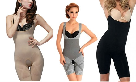 Bamboo Slimming-Effect Body Suit