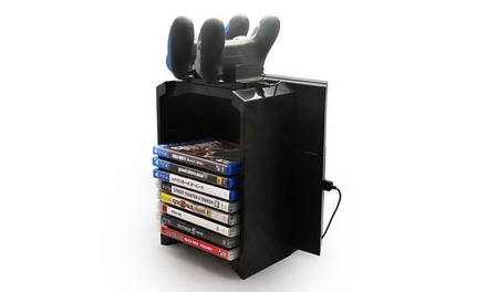 Disk Storage and Charging Stand