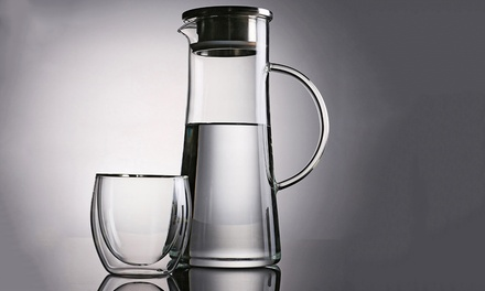 Double Wall Drinking Set