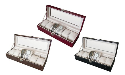 Six-Piece Watch Organiser