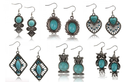 Tibetian Style Earrings
