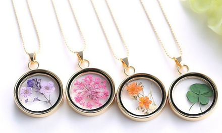 Two Glass Memory Lockets