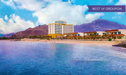 4* Stay with Breakfast in Khor Fakkan