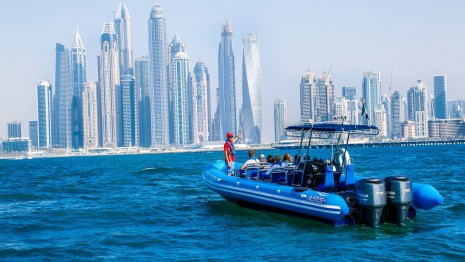 Enjoy 90 mins Speedboat Cruise Experience