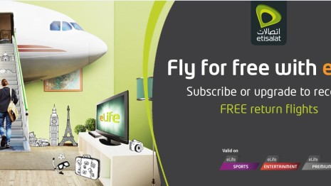 Fly for FREE With Elife by Etisalat