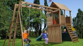 Solid Wood Climbing Frames