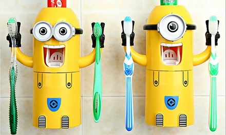 2 Toothpaste Dispensers/Holders