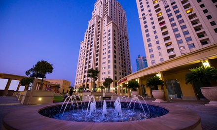 Dubai: 1- or 2-Night Apartment Stay with Late Check-Out