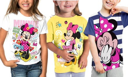 2 Girl's Licensed Character T-Shirts