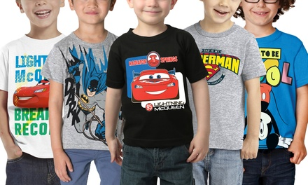 Boy's Licensed Character T-Shirts