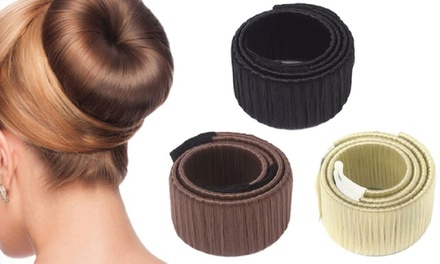 Bun Maker and Spiral Hair Pin Set
