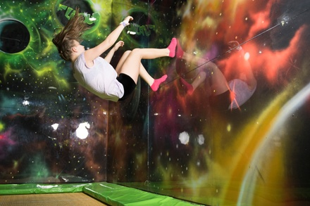 Indoor Trampoline Session at Flip Out