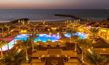 Ajman: 5* Luxury Stay with Full Board