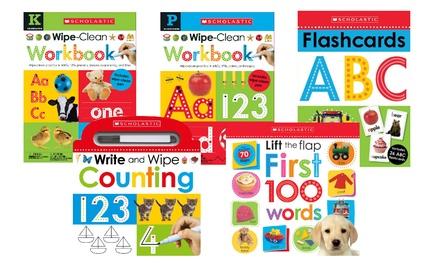 Scholastic Wipe-Clean Books