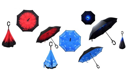 Reversible Folding Umbrella