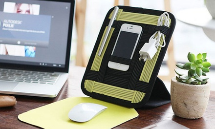 Desktop Organizer with Mouse Pad