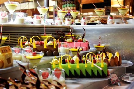 Dinner Buffet with Free-Flowing Drinks at Dine-Aloft Hotel