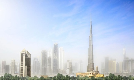 Dubai: 1- or 2 Night 4* Stay with Burj Combo Tickets