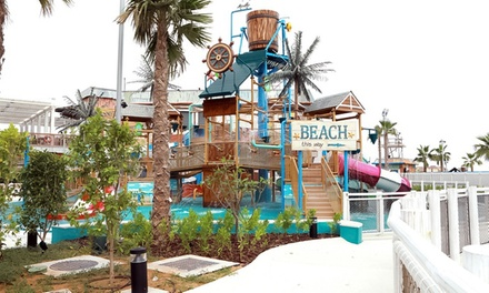 Dubai: 1 or 2 Nights with Waterpark Tickets