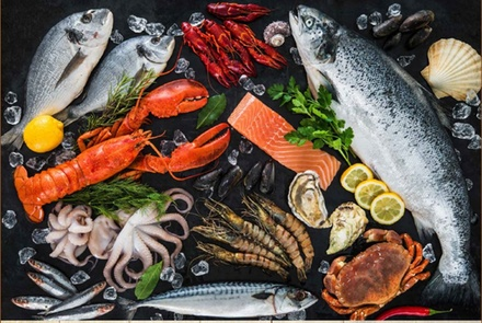 5* Seafood Buffet with Drinks: Child (AED 89)